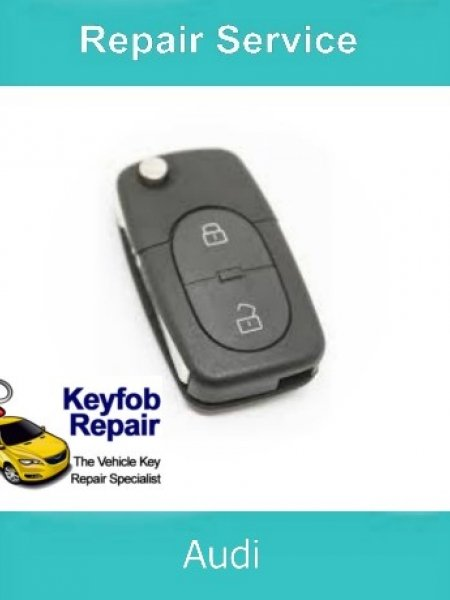 Key Repair Service – Audi 2 Button Fix